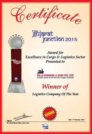 Winner - Logistics Company of the year