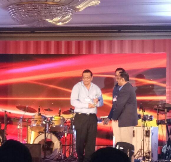 Our chairman receiving award from Econ Shipping. The function was held on 08/09/2017 at The Leela Hotel Andheri.