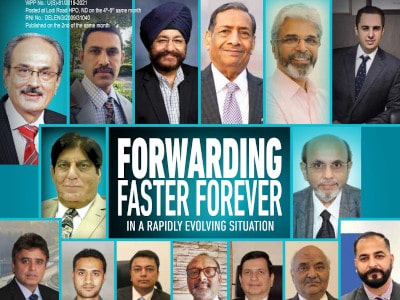 Forwarding Faster Forever in a rapidly evolving situation by CARGOCONNECT featuring our Director, Mr. Prashant Popat.